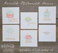 Stampin' Dolce: Ronald McDonald House - Artisan Design Team Blog Hop