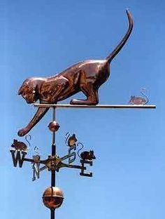whimsical weather vane