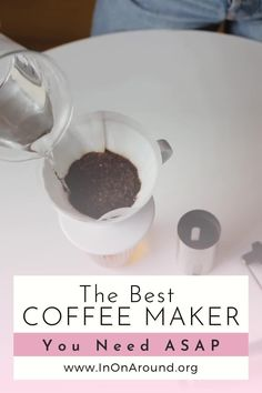Don't miss out on this amazing coffee maker! It's the best coffee maker on the market. The best of the best - and completely non-toxic. Safe materials only. Many coffee makers harbor mold and other nasty organisms that can make you sick - yuck. Ditch and switch to a safer alternative (that is affordable too). #coffeemaker #coffeebar #coffeestation Healthy Alcoholic Drinks, Drinks Alcohol Recipes, Safest Cookware, Cookware Set, Hot Coffee, Coffee Drinks, Healthy Smoothies, Smoothie Recipes, Best Coffee Maker