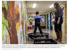 Sharp Rise in OT Cases at New York's Schools- pinned by @PediaStaff – Please Visit ht.ly/63sNtfor all our pediatric therapy pins