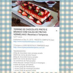 Terrine chocolate