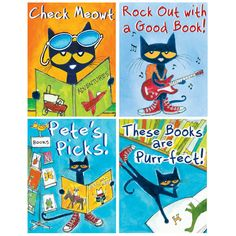 Perfect mini posters for a classroom or school library!