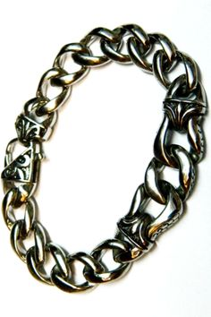pulseira em aço largura 12mm x 4mm espessura  comprimento 20cm acessórios masculinos