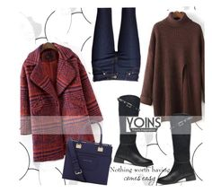 """YOINS"" by elly-852 ❤ liked on Polyvore featuring Ella Doran, Trina Turk, women's clothing, women's fashion, women, female, woman, misses and juniors"