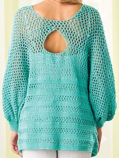 Peekaboo-Back Tunic