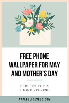 Free Phone Backgrounds for May Vintage Phone Wallpaper, Free Phone Wallpaper, Flower Phone Wallpaper, Phone Wallpapers, Free Phones, Success And Failure, Spring Design, Pregnant Mom, Apple Slices