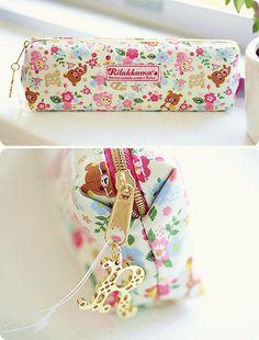 be my college mate please ._. rilakkuma pencil case