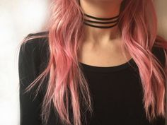 Triple black suede leather choker necklace by EndlessUniverse