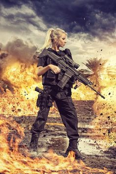 Girls with gun - www.Rgrips.com