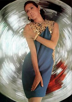 Christian Dior. L'Officiel magazine 1967