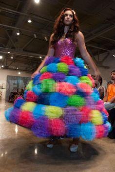 EcoCouture fashion show at Fashion Week San Antonio. October 25th, 2012.