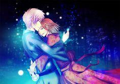 El primer y último abrazo... #HotarubiNoMoriE