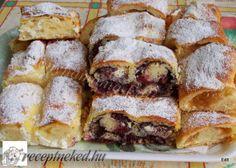 Érdekel a receptje? Kattints a képre! Hungarian Recipes, My Recipes, French Toast, Sandwiches, Sweets, Bread, Snacks, Baking, Breakfast