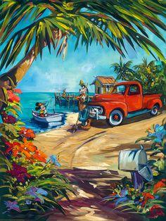 Goofy – Goofy's Fishing Hole – Steve Barton Disney Artwork, Disney Fan Art, Disney Drawings, Disney Love, Disney Magic, Minnie, Disney Mickey Mouse, Disney Pixar, Walt Disney