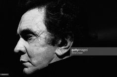 Photo of Johnny CASH; Posed portrait of Johnny Cash