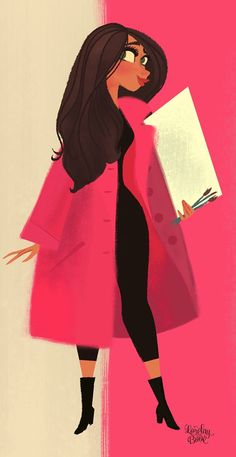 Portrait - Print by Lorelay Bove