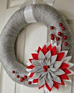 A guirlanda representa paz, prosperidade, evolução e recomeço, por isso elasadornam a porta de entrada de lares pelo mundo. Elas são perfei...