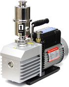 Ai EasyVac 9 cfm Dual-Stage Vacuum Pump with Oil Mist Filter