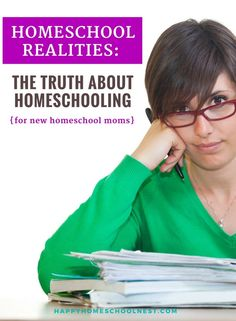 Homeschool Realities: The Truth About Homeschooling {for New Homeschool Moms} — Happy Homeschool Nest ~ Balancing Home & Homeschool – Education is important Benefits Of Homeschooling, How To Start Homeschooling, Homeschool Books, Homeschool Curriculum, Homeschooling Resources, Missing School Days, Family Emergency, Home Schooling, Learn To Read