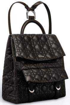 Dior Stardust Backpack - Dior Watch - Ideas of Dior Watch - For the past few weeks we were chit chatting about the latest Dior backpack without knowing its true name. And today it has finally been revealed. Presenting the Dior Stardust Backpack. Trend Fashion, Look Fashion, Fashion Bags, Fashion Jewelry, Backpack Bags, Leather Backpack, Dior Handbags, Designer Handbags, Designer Backpacks