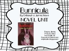 Bunnicula study guide questions