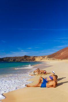 La Graciosa, isla de Lanzarote. Islas Canarias