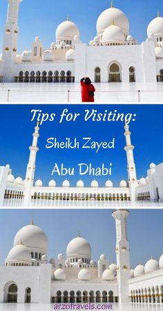 United Arab Emirates. Tips for visiting the Sheikh Zayed Mosque (Grand Mosque) in Abu Dhabi. How to behave, what to know.
