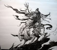 Maheshwara by tejomaya