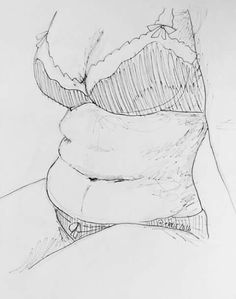 // more body positivity bc why not 🌸 Art Sketches, Art Drawings, Plus Size Art, Body Drawing, Body Love, Art Inspo, Line Art, Art Reference, Cool Art