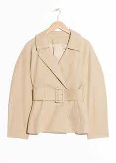 & Other Stories | Belted Safari Jacket