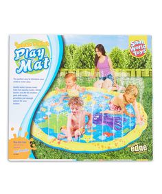 Look what I found on #zulily! Sprinkle N' Splash Playmat by Small World Toys #zulilyfinds