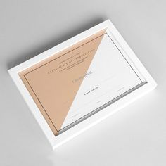 Silver foiled certificates I designed for CreationFest 2014. #onryansshelf