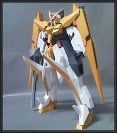 GN-007 Arios Gundam Papercraft Free Template Download - http://www.papercraftsquare.com/gn-007-arios-gundam-papercraft-free-template-download.html