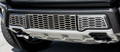2017 Ford Raptor Lower Bumper Covers Grille Style | Polished or Brushed