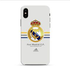 Real Madrid Club De Fútbol La Liga Spanyol Logo iPhone X 3D Case