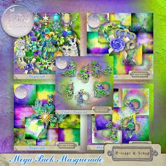 Masquerade Mega Pack (PU/S4H) by Bee Creation