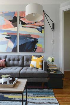 Justin's Revamped NYC Living Room | west elm