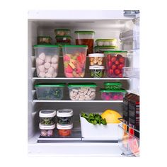 PRUTA Caixa, 17 uds IKEA Conjunto básico de caixas para guardar tudo, desde fiambre, queijo, etc. a sobras e doses individuais de comida.