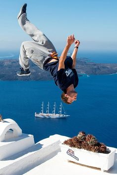 Are you ready for some action?  Don't miss the world's best ‪#‎freerunning‬ athletes here in ‪#‎Santorini‬ for Red Bull Art of Motion on October 3rd, performing against an amazing backdrop of this idyllic island!http://win.gs/1Q2TxfH