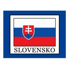 Shop Slovensko Postcard created by KellyMagovern. Slovakia Flag, Political Events, European Destination, Europe Travel Tips, Day Up, National Flag, Postcard Size, Smudging, Exploring
