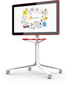 Jamboard - a collaboration space worthy of your ideas. The newest addition to G Suite, Jamboard merges the worlds of physical and digital creativity. It's real time collaboration on a brilliant scale, whether your team is together in the conference room or spread all over the world.