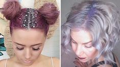 Lazy girls, this new hair trend just might make your case for skipping the salon. Here's why the glitter roots trend will make your day.