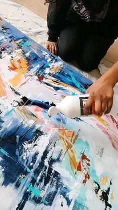 The final coat of vanish - Liquitex Varnish Liquitex, Paintings, Coat, Artwork, Canvas Ideas, Sewing Coat, Work Of Art, Paint, Auguste Rodin Artwork