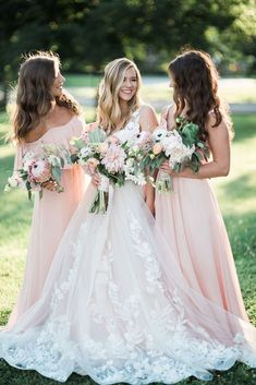 Must Take Wedding Photos With Your Bridesmaids ❤ See more: http://www.weddingforward.com/must-take-wedding-photos-with-bridesmaids/ #weddings
