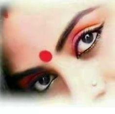 Photos Of Eyes, Eye Photography, Bindi, Female Portrait, Girls Eyes, Beautiful Pictures, Feminine, Twitter, Sexy