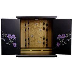 Japanese Buddhist Altar Butsudan (Big, Tessen) by Kuroshio, http://www.amazon.com/dp/B002AQTMCE/ref=cm_sw_r_pi_dp_ylZ3rb18XCCSA