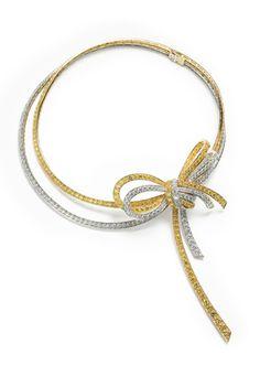 The Nœud Diamond Necklace  By Van Cleef & Arpels @Wendy Werley-Williams.vancleefandarpels.com