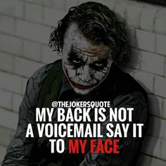 Most memorable quotes from Joker, a movie based on film. Find important Joker Quotes from film. Joker Quotes about who is the joker and why batman kill joker. Joker Qoutes, Joker Frases, Best Joker Quotes, Badass Quotes, Heath Ledger Joker Quotes, Swag Quotes, True Quotes, Quotes On Wisdom, Quotes On Haters