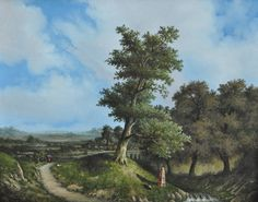 Q0 Summer Landscape 50x40cm Jan G. Marque.