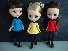 Star Trek Blythes ♥